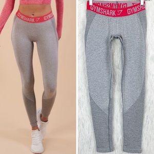 Gymshark | NWOT Grey/Sherbert Pink Flex Leggings S